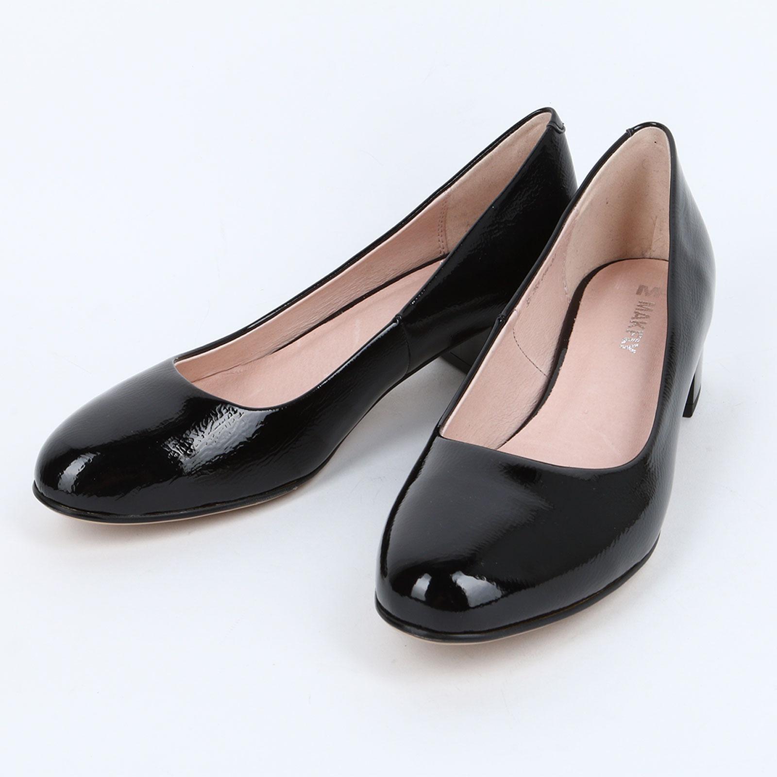 Туфли-лодочки женские на наборном каблуке