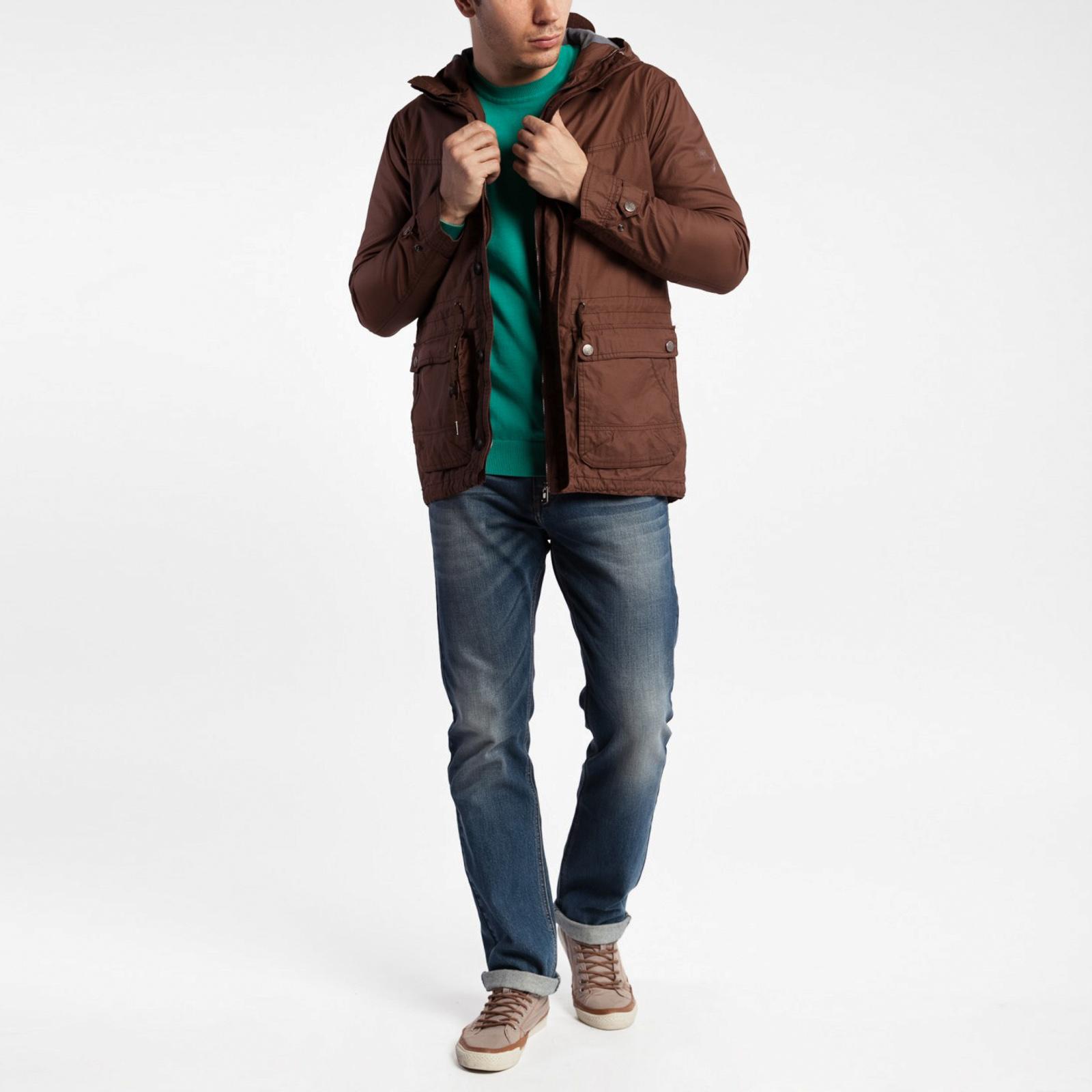 Куртка на молнии с карманами