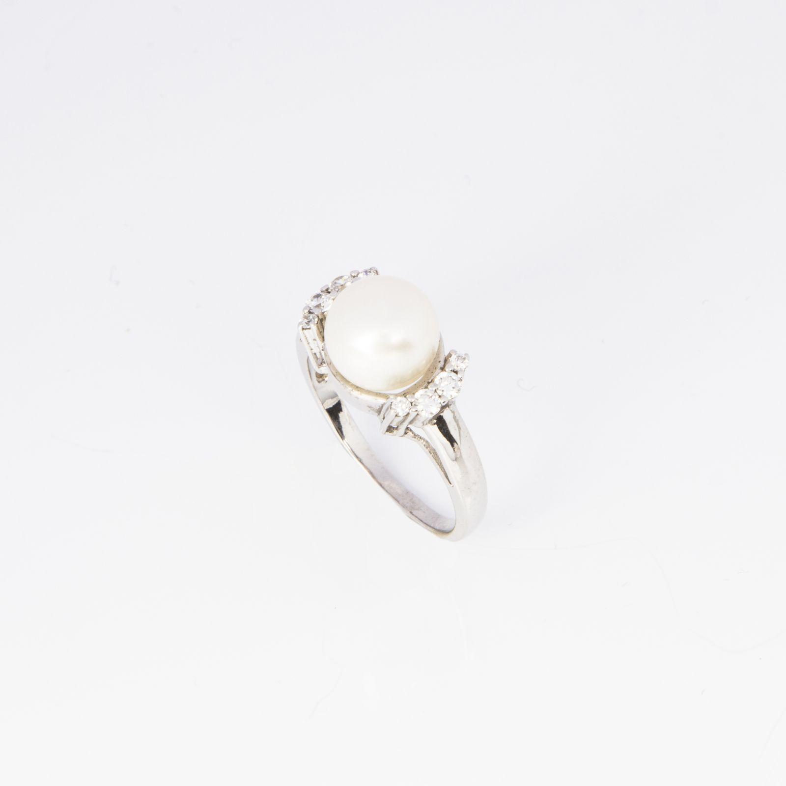 Кольцо «Нежная жемчужинка»