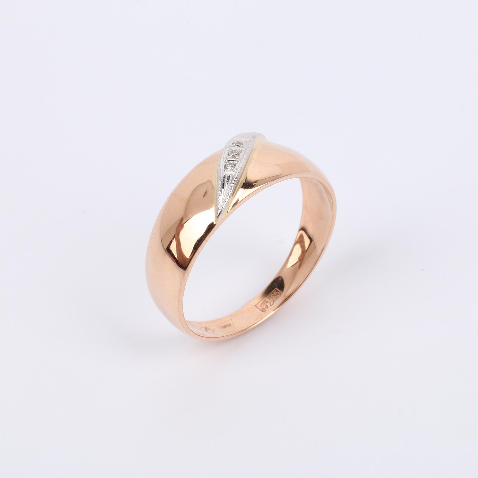 """Золотое кольцо """"Перо феникса"""""""