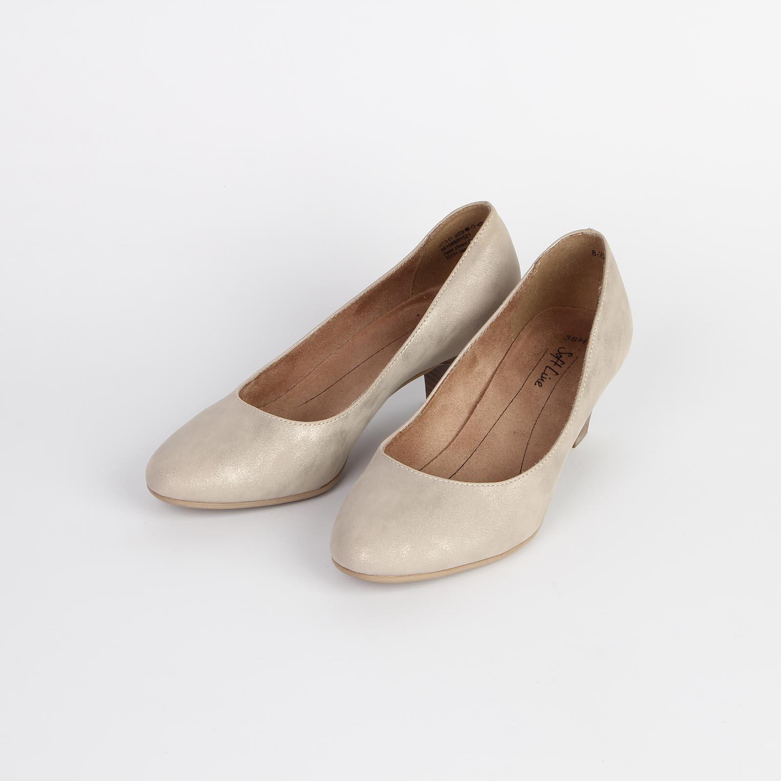 Лодочки женские классические на удобном каблуке