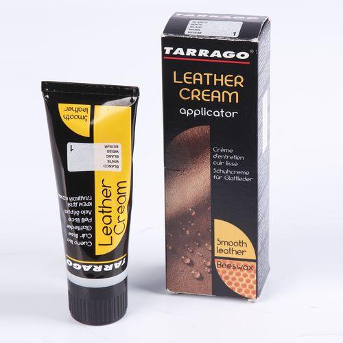 Крем-тюбик с губкой Leather cream