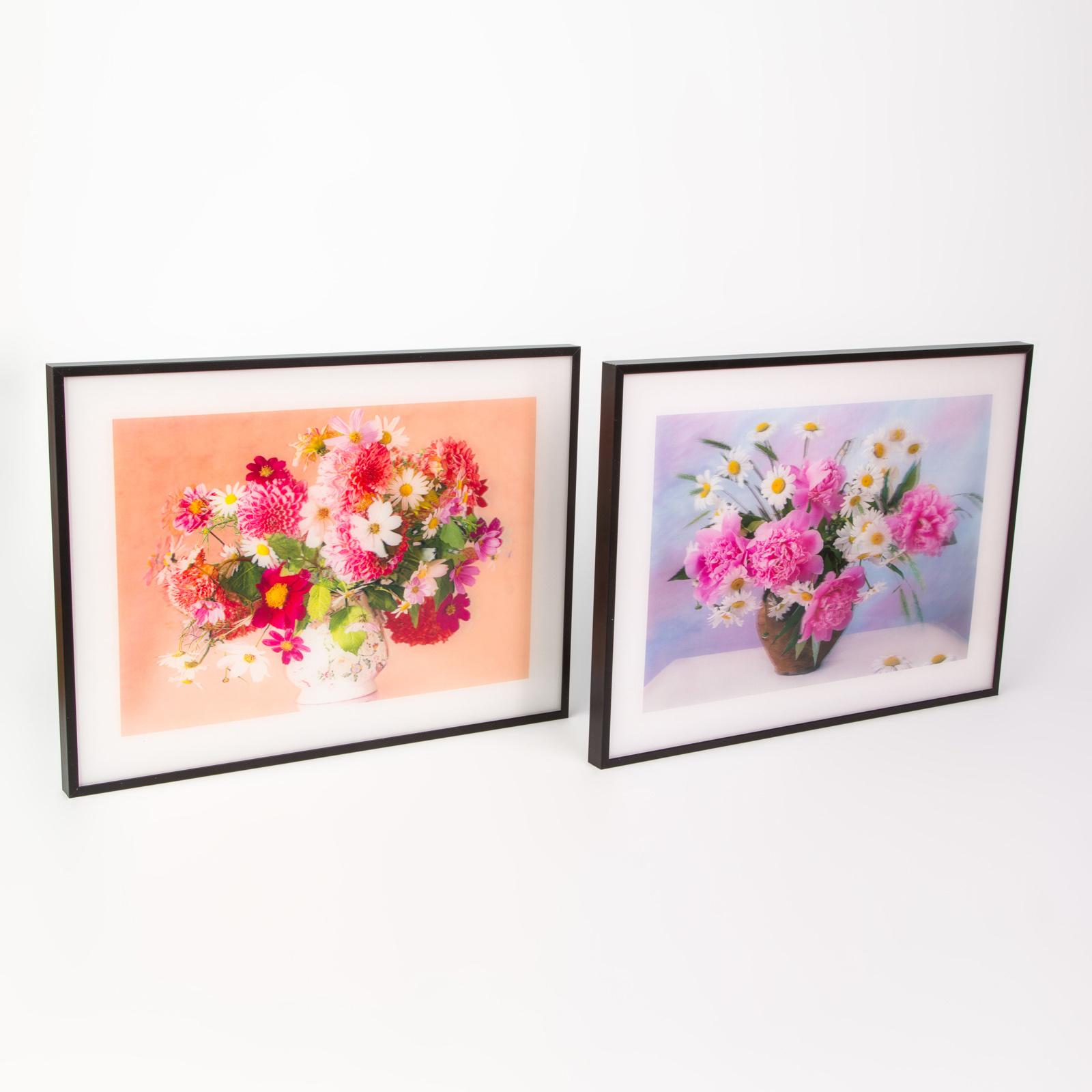 Картина 3D «Букет цветов»