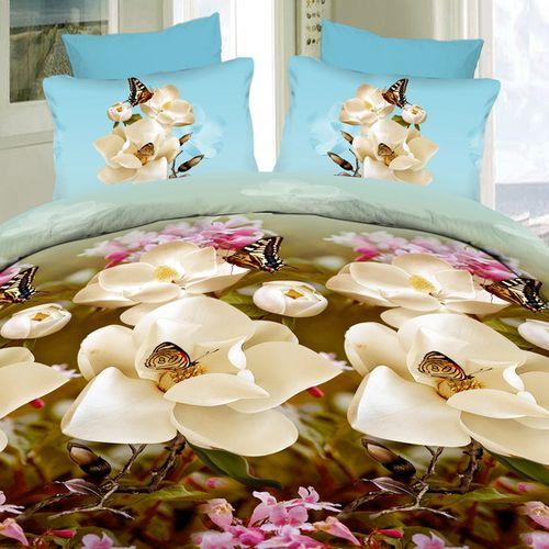 Комплект постельного белья «Магнолии в саду»