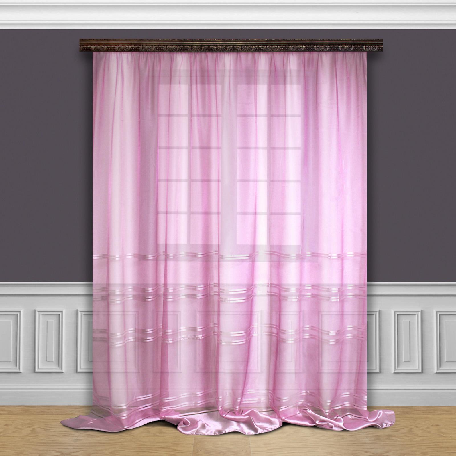 Тюль «Розовая нежность»