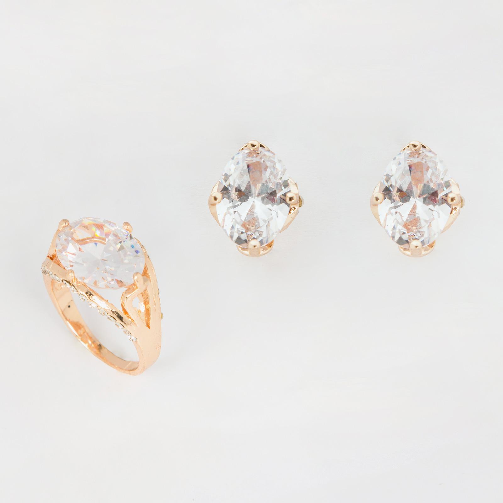 Комплект украшений «Блеск бриллиантов»