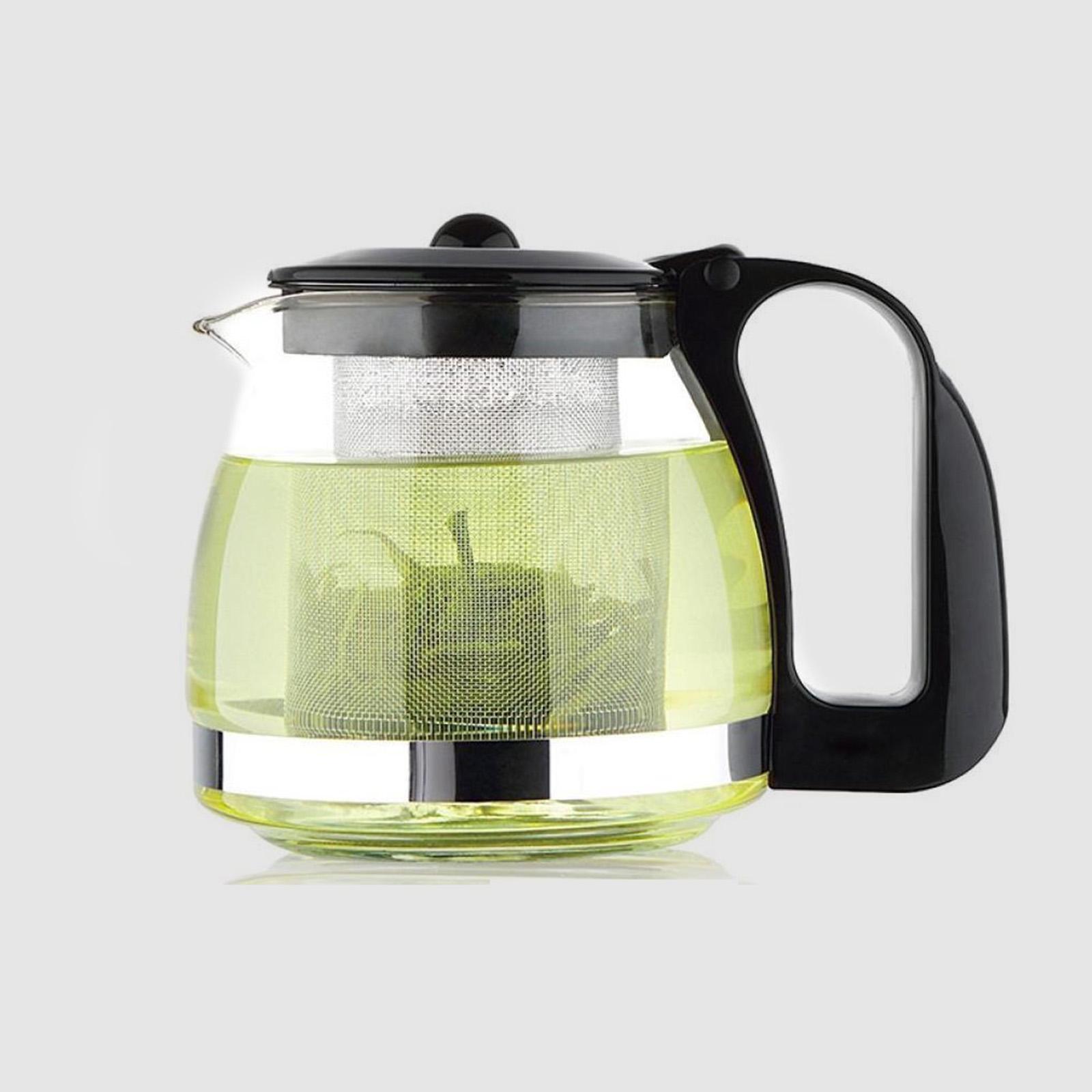 Заварочный чайник из бакелитового стекла