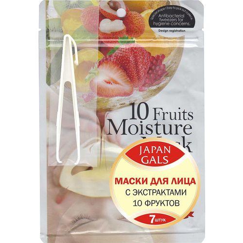 Маска для лица с экстрактами 10 фруктов