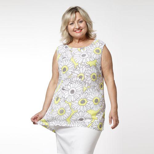 Туника-блуза без рукавов