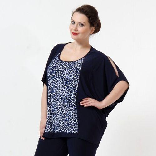 Блуза-пончо «Леопард»