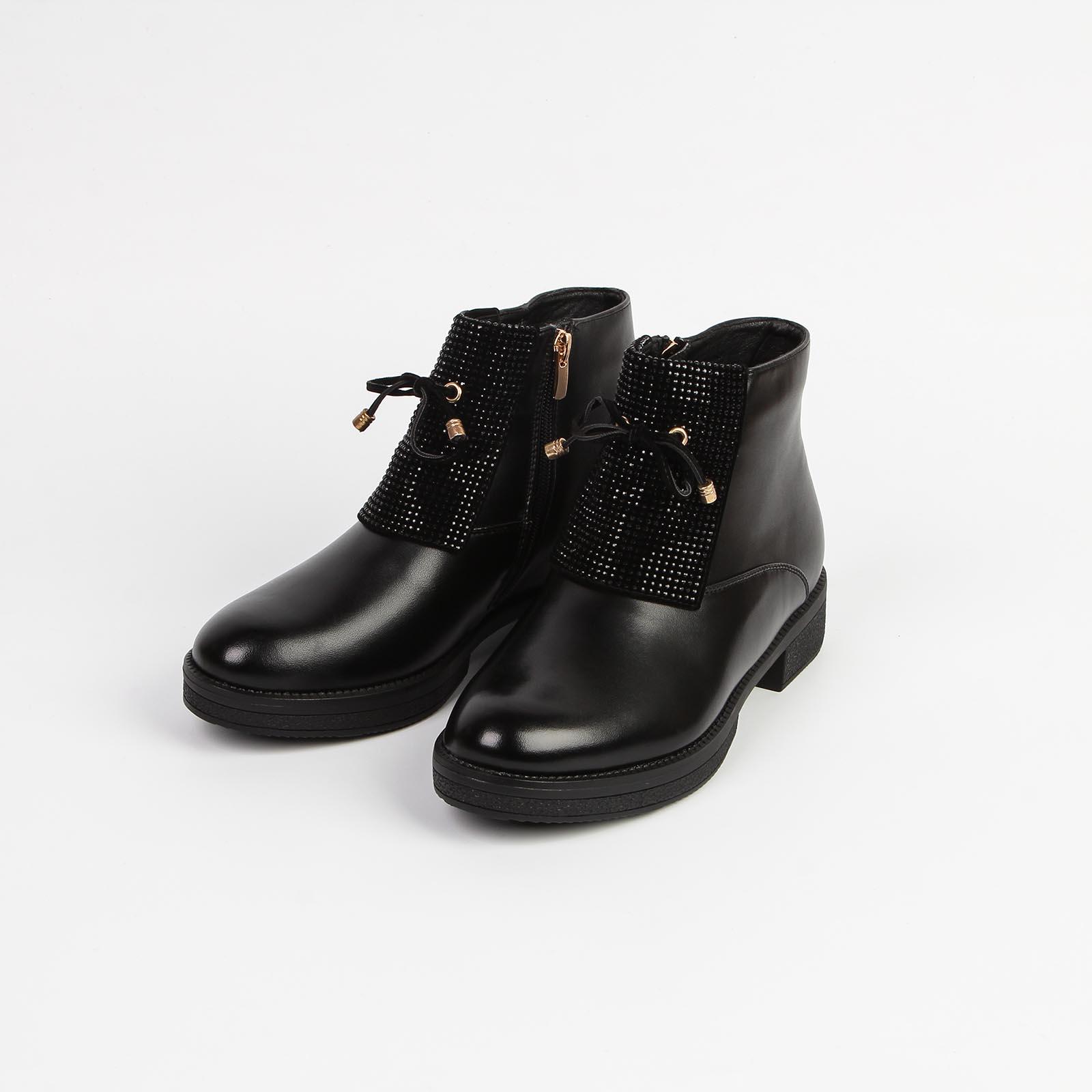 Ботинки женские с бантом