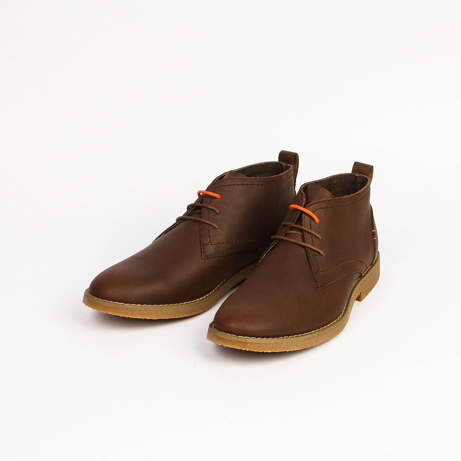 Ботинки мужские из натуральной кожи