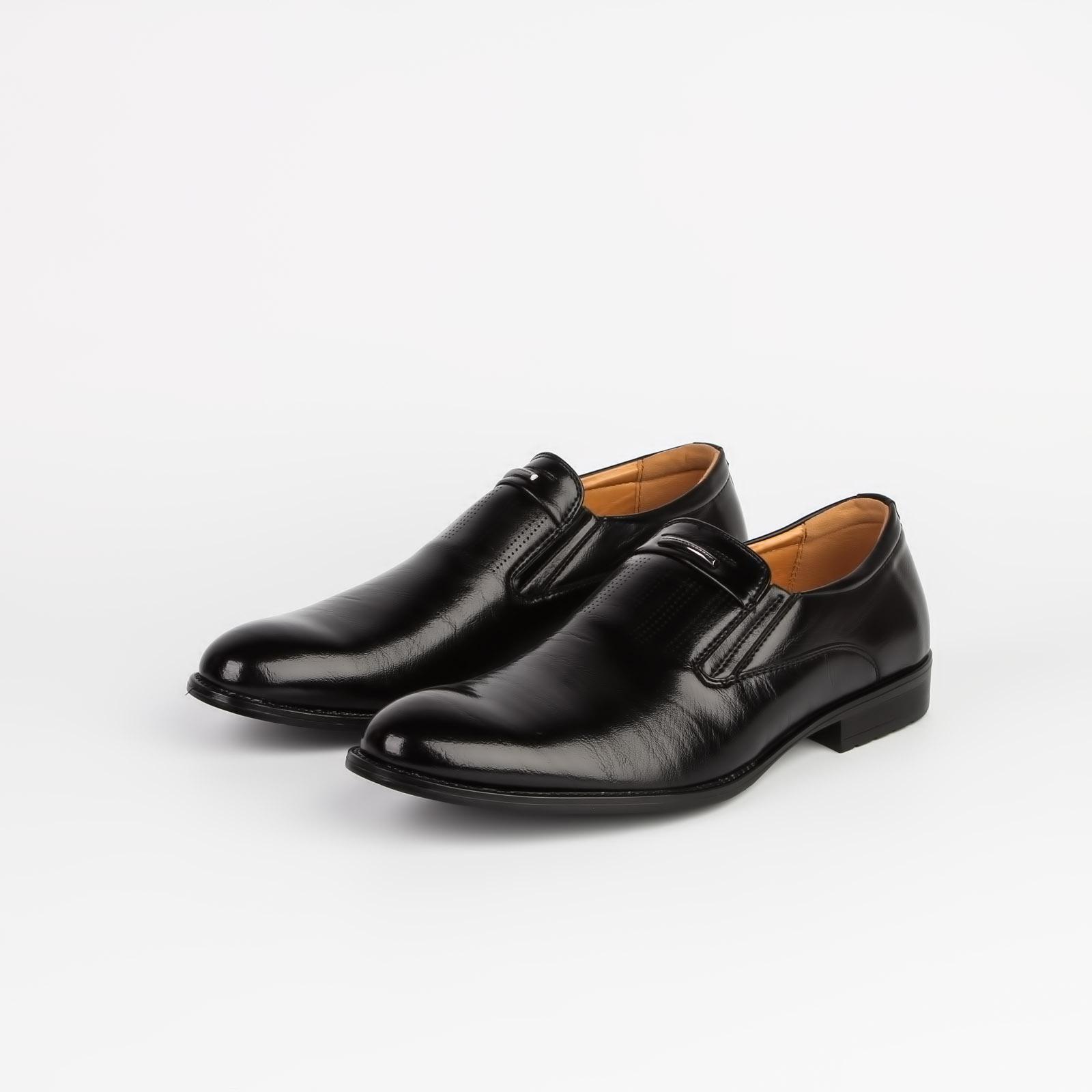 Туфли мужские с мелкой перфорацией