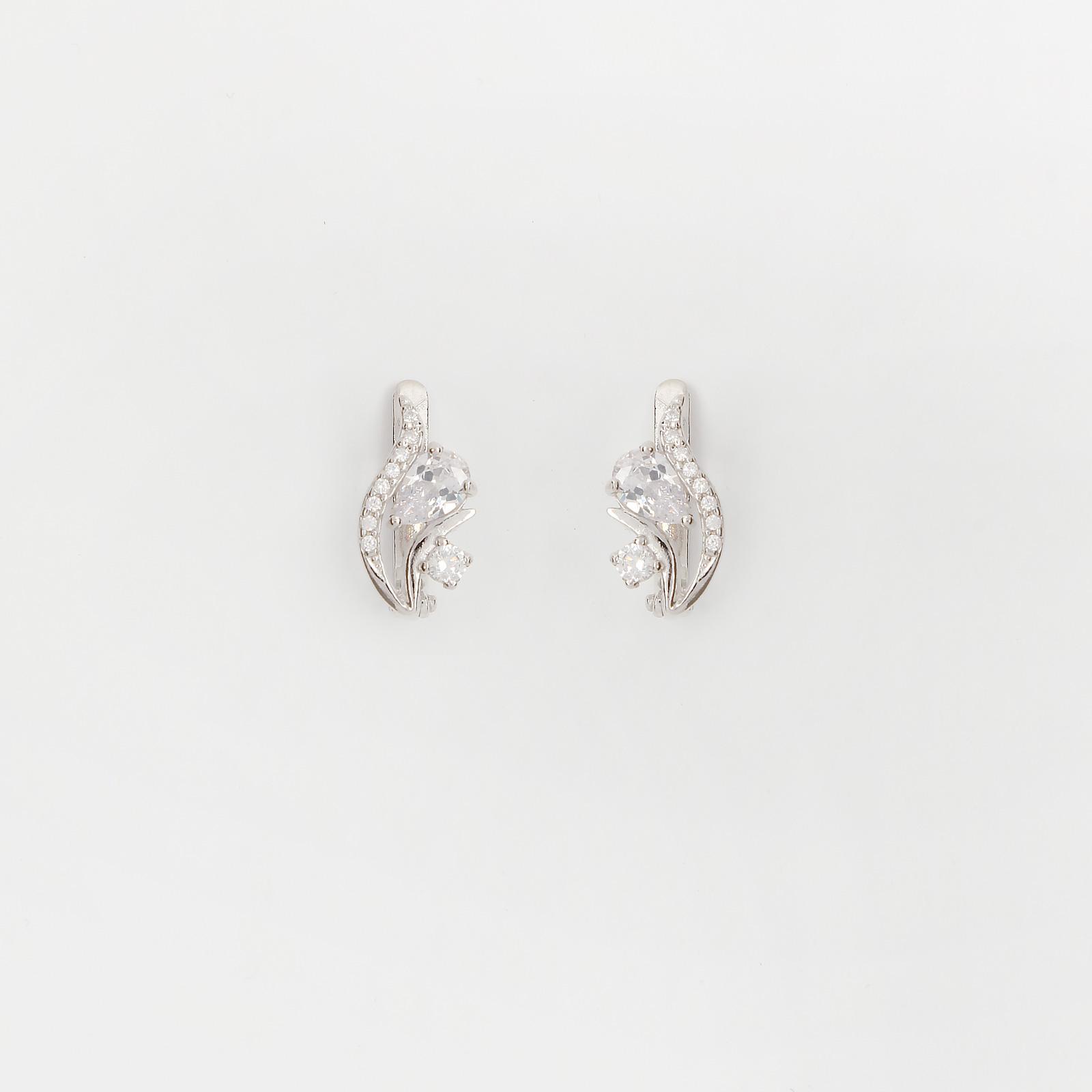 Серебряные серьги «Весенний цветник»