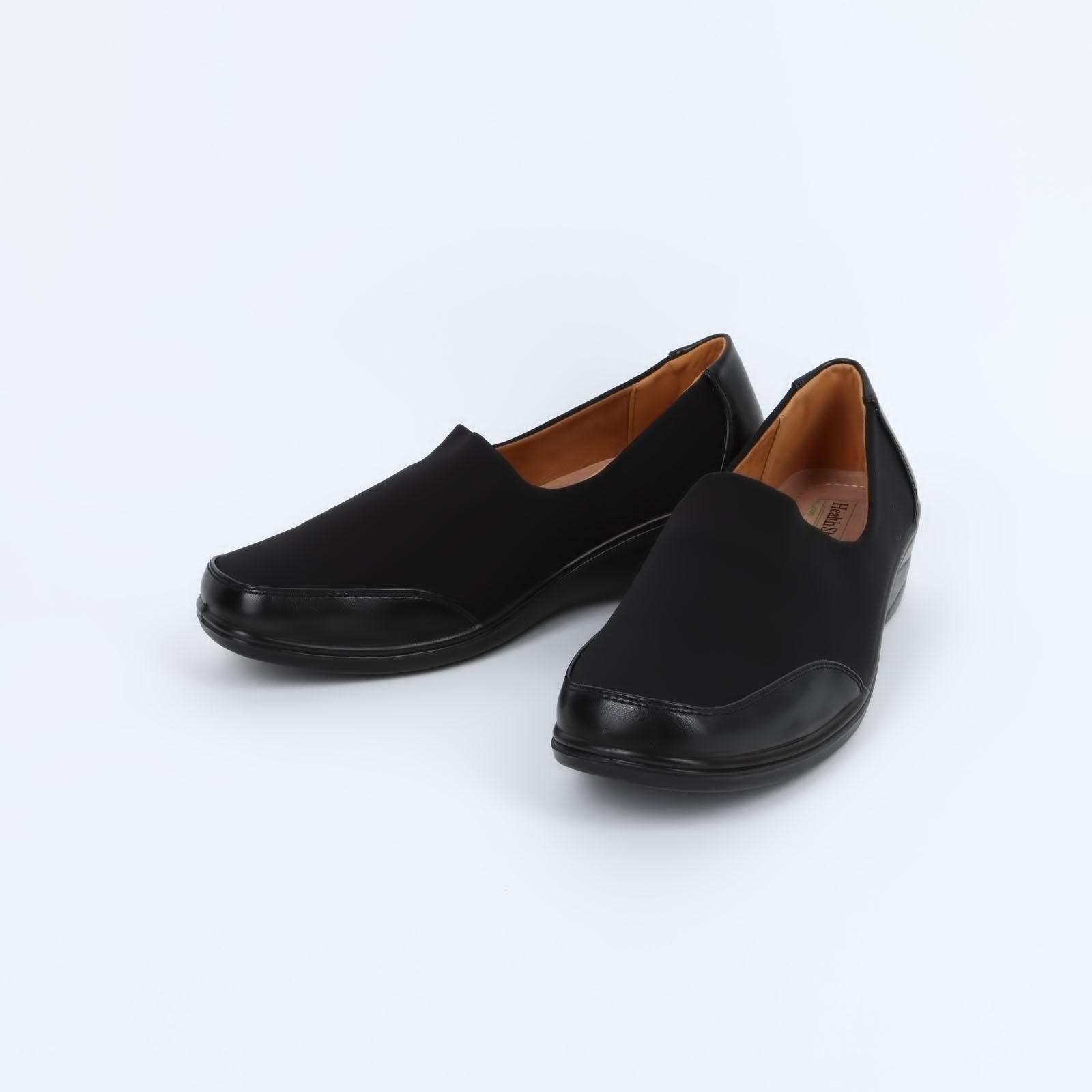 Туфли женские со вставками на мысу и пятке