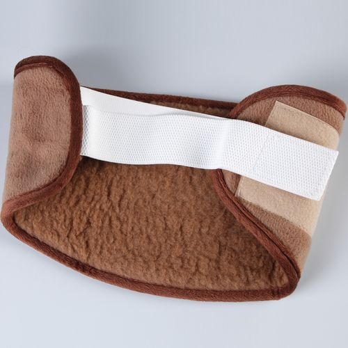 Бандаж согревающий меховой из верблюжьей шерсти