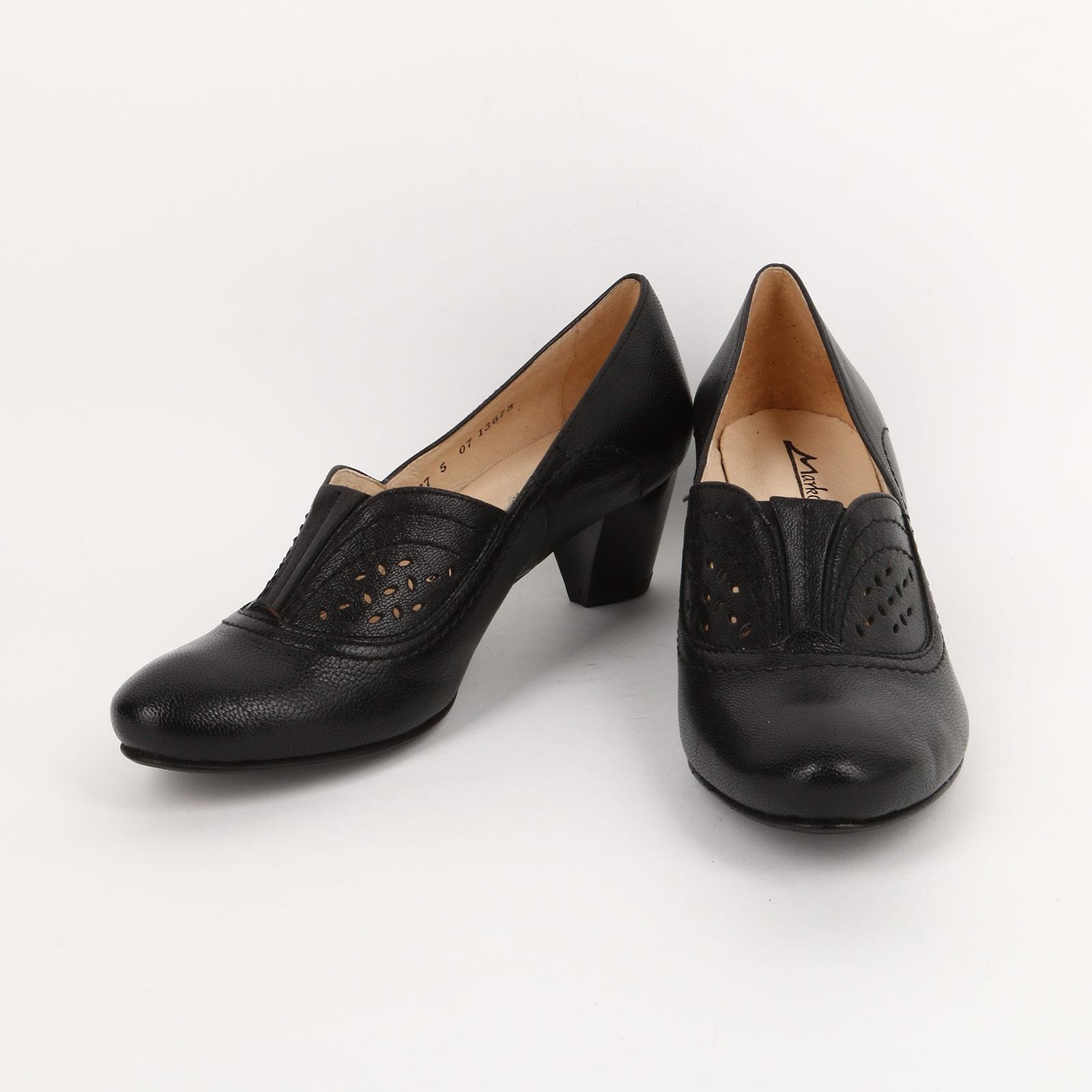 Туфли с перфорированным рисунком