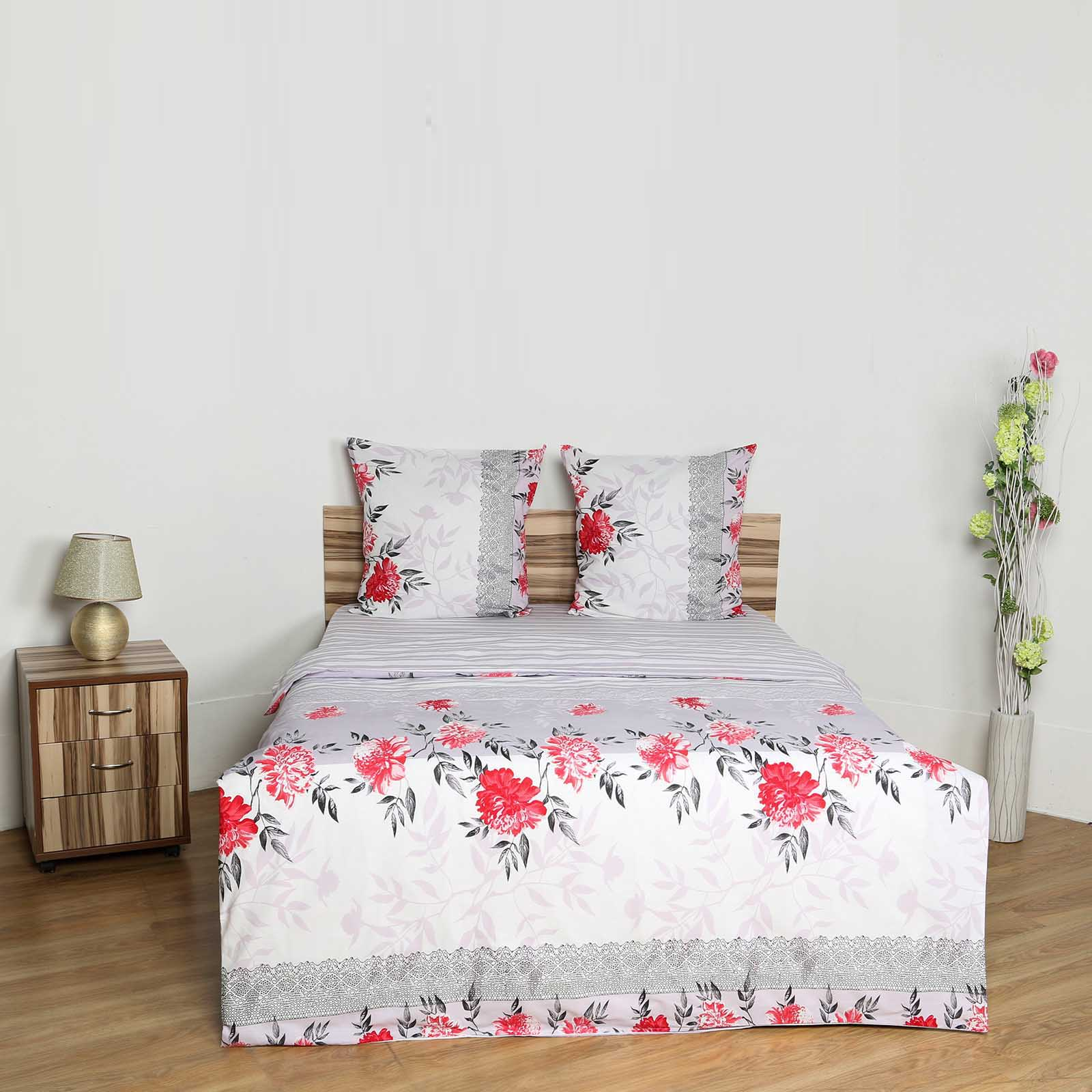 Комплект постельного белья «Цветы на снегу»