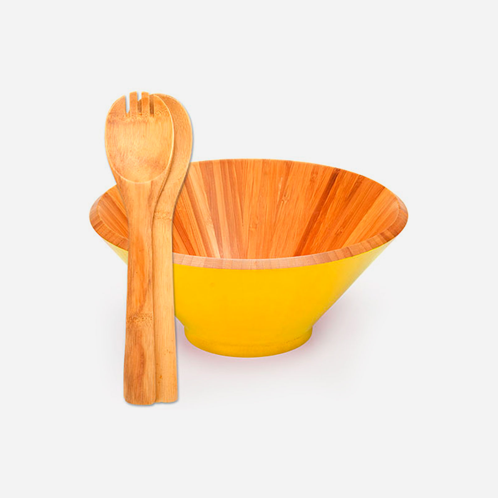Салатница из бамбука «Эко серия»