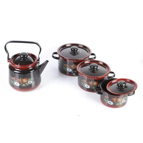 Набор эмалированной посуды «Кармен»