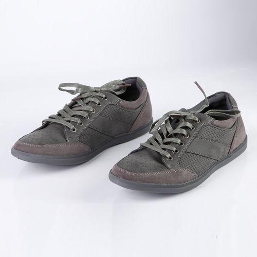 Кроссовки мужские перфорированные на шнуровке