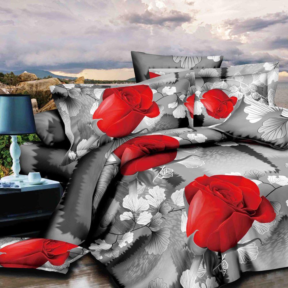 Комплект постельного белья «Алая роза»