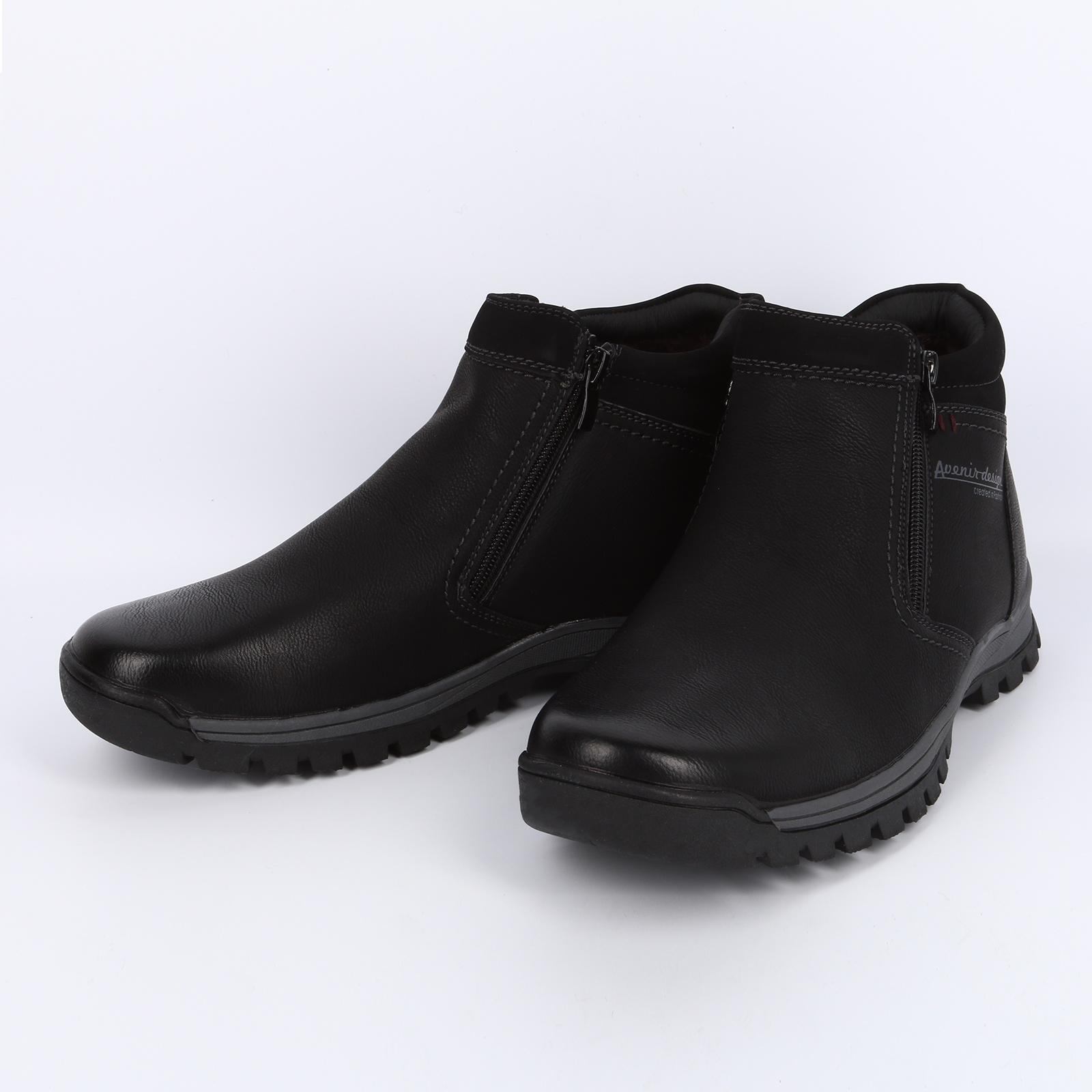 Мужские ботинки на составной подошве