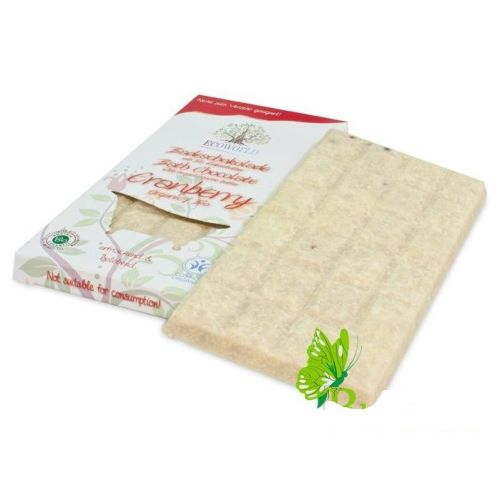 Масло твердое ароматическое для ванны «Клюква» шоколад