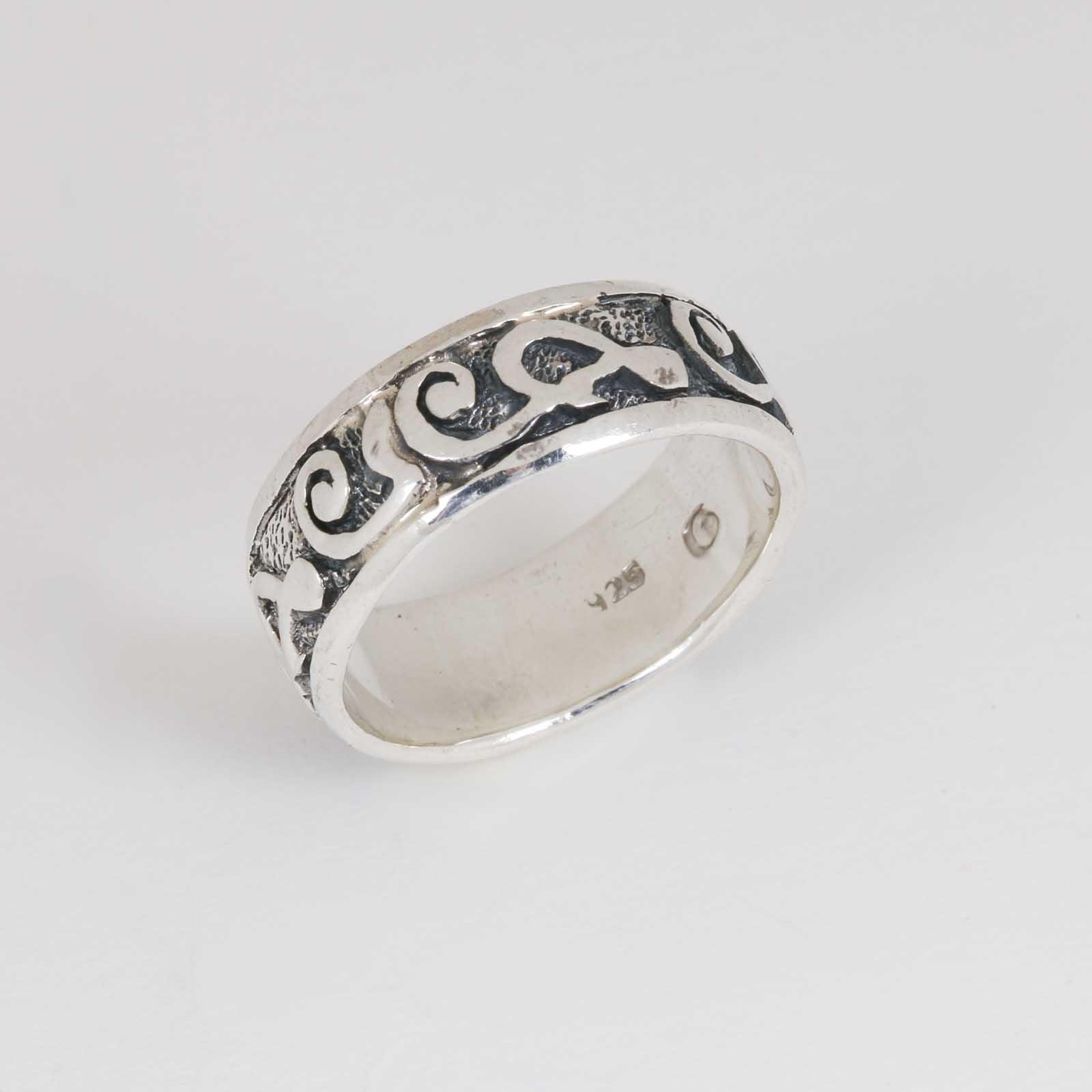 Серебряное кольцо «Тайна»