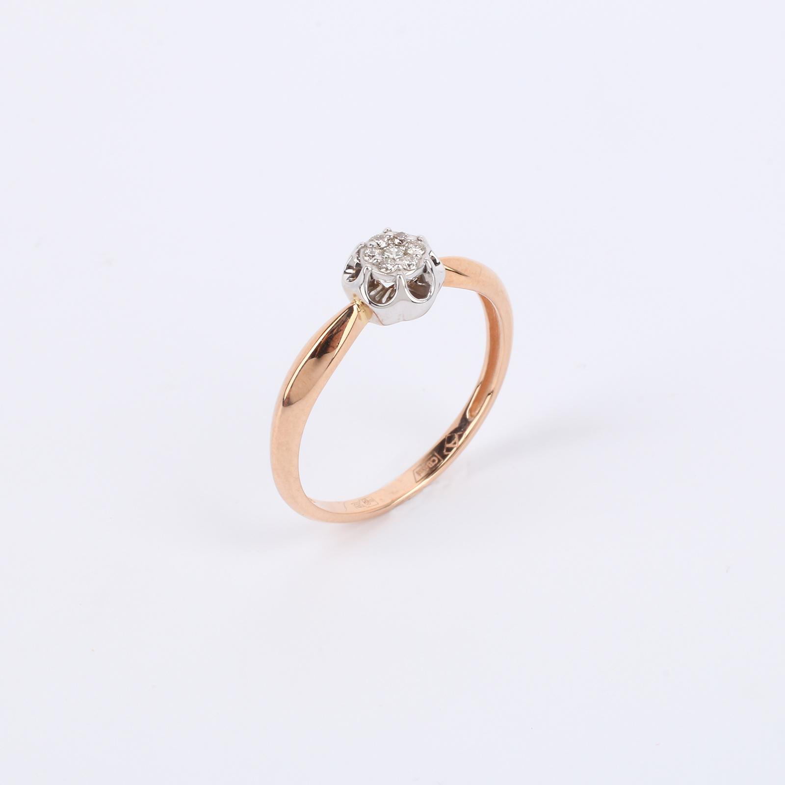 """Золотое кольцо """"Прекрасная Роксана"""""""