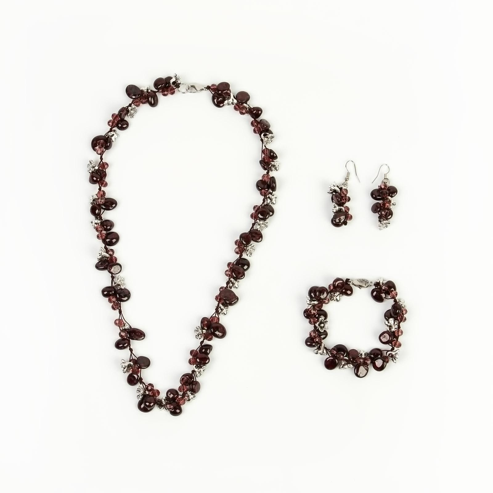 Комплект украшений «Нежная нимфа»
