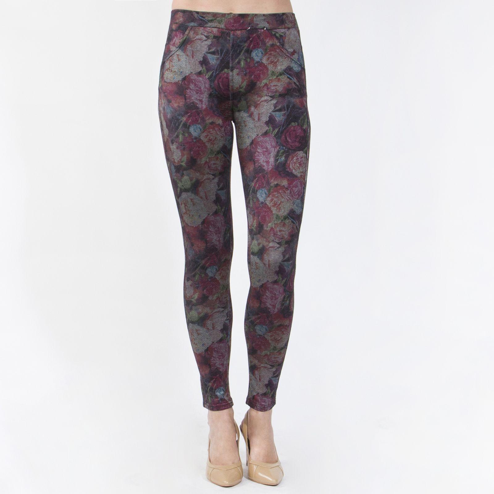 Кроеные леггинсы под джинсу «Искушение стилем»