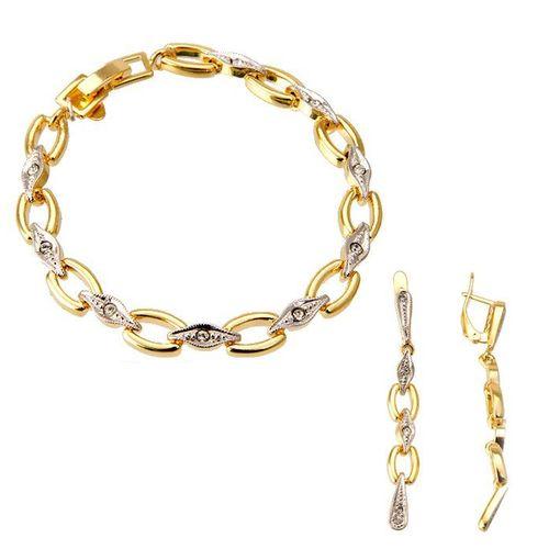 Комплект украшений «Золотая змейка»