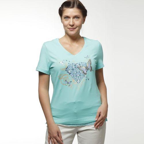 Женская футболка с принтом «Лаванда»