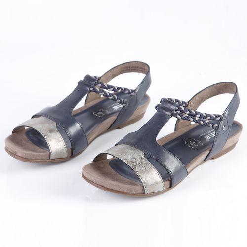 Женские сандалии из натуральной кожи украшенные переплетающимися ремешками