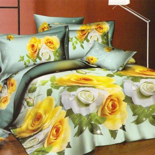 Комплект постельного белья «Желтые розы»