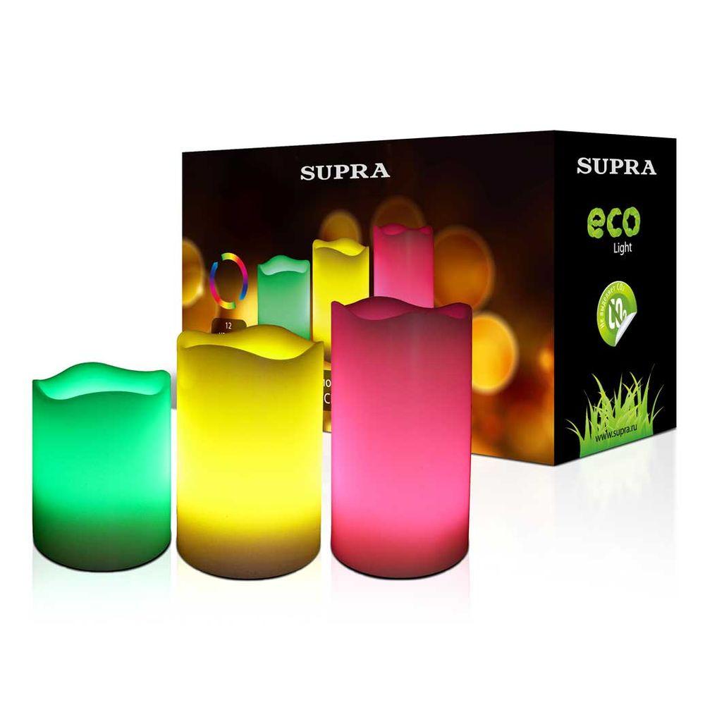 Набор светодиодных свечей «Трио»