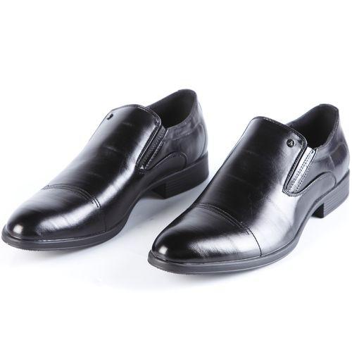 Туфли мужские с классические с эластичными вставками