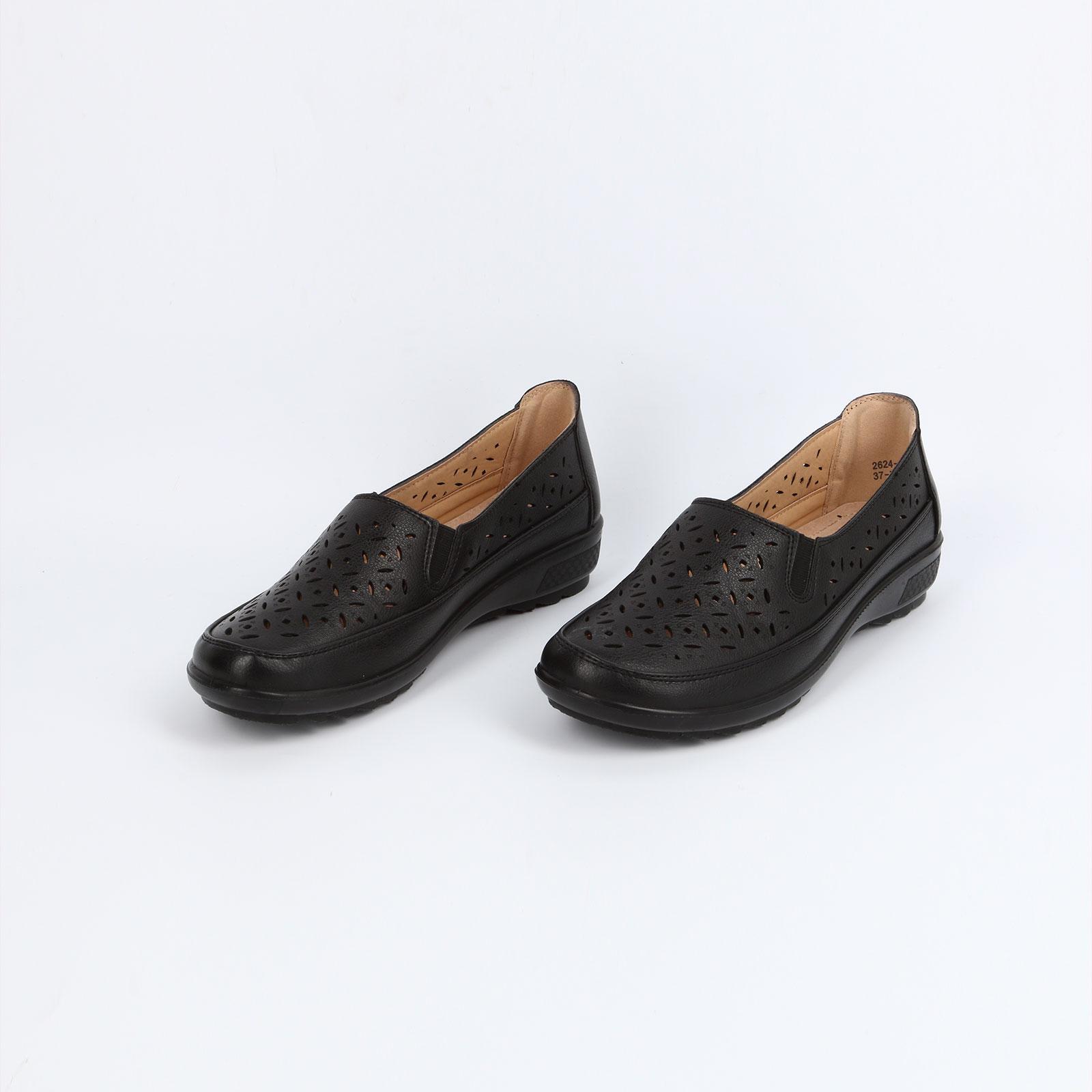 Туфли женские на утолщенной подошве
