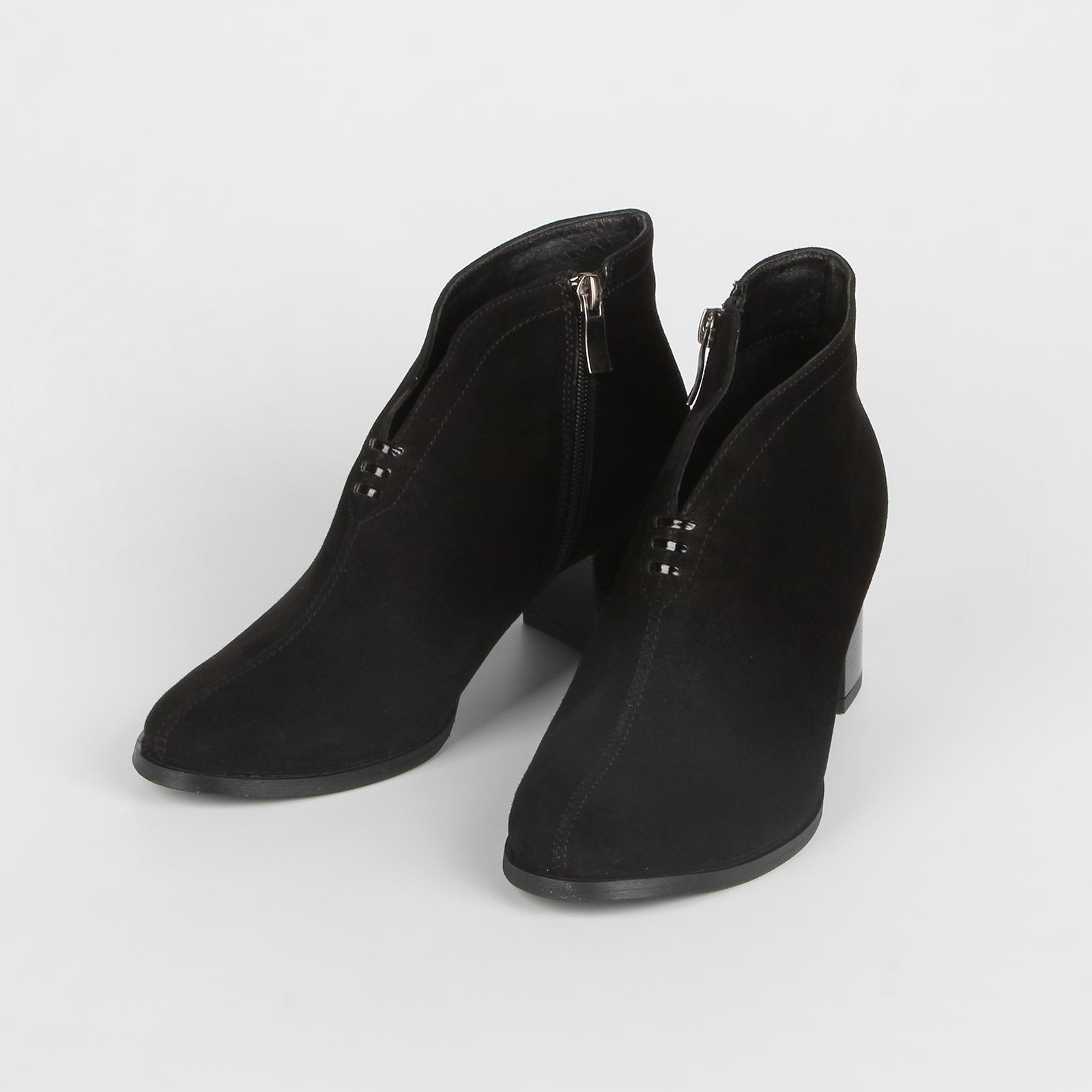 Ботильоны женские с высоким каблуком