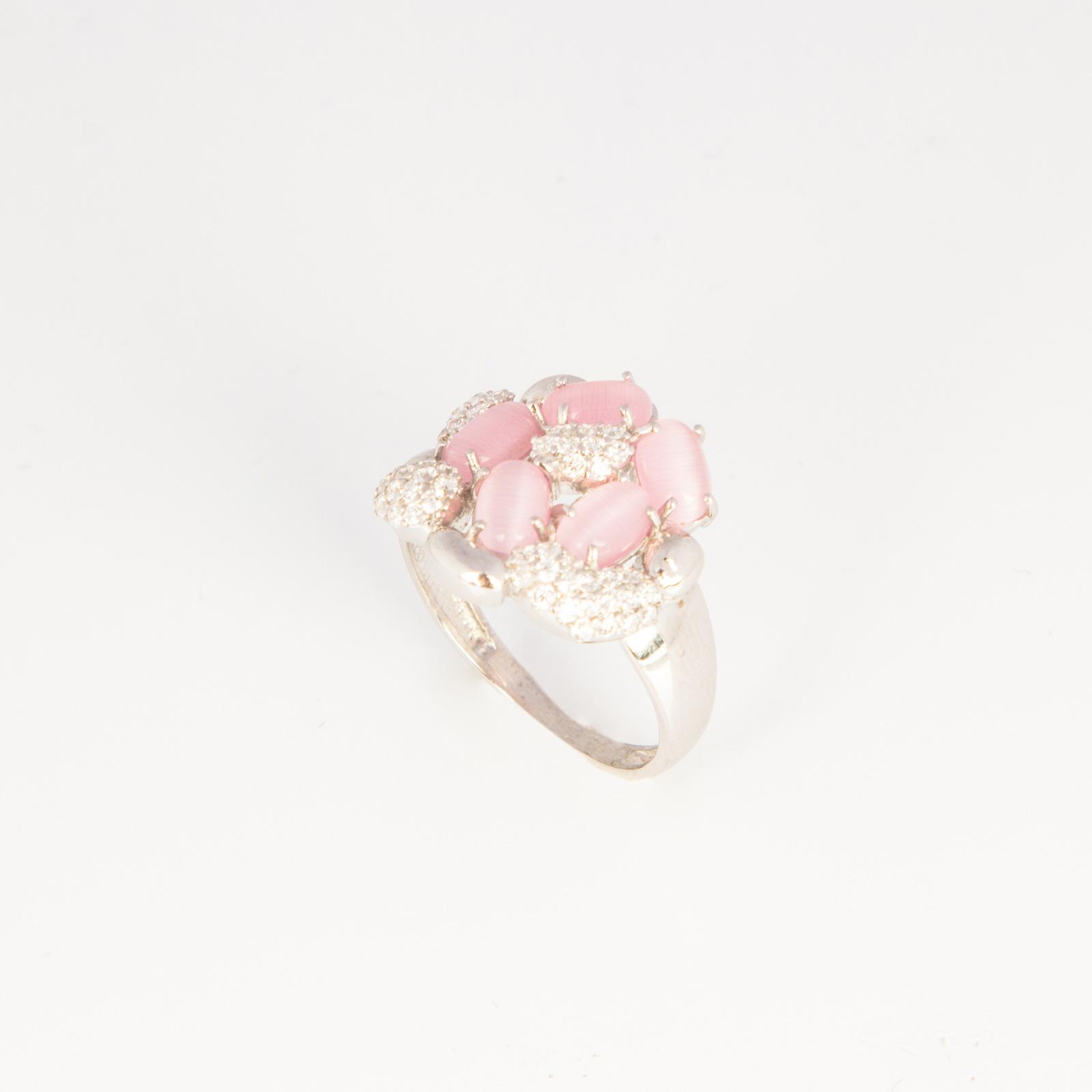 Серебряное кольцо «Дикая роза»