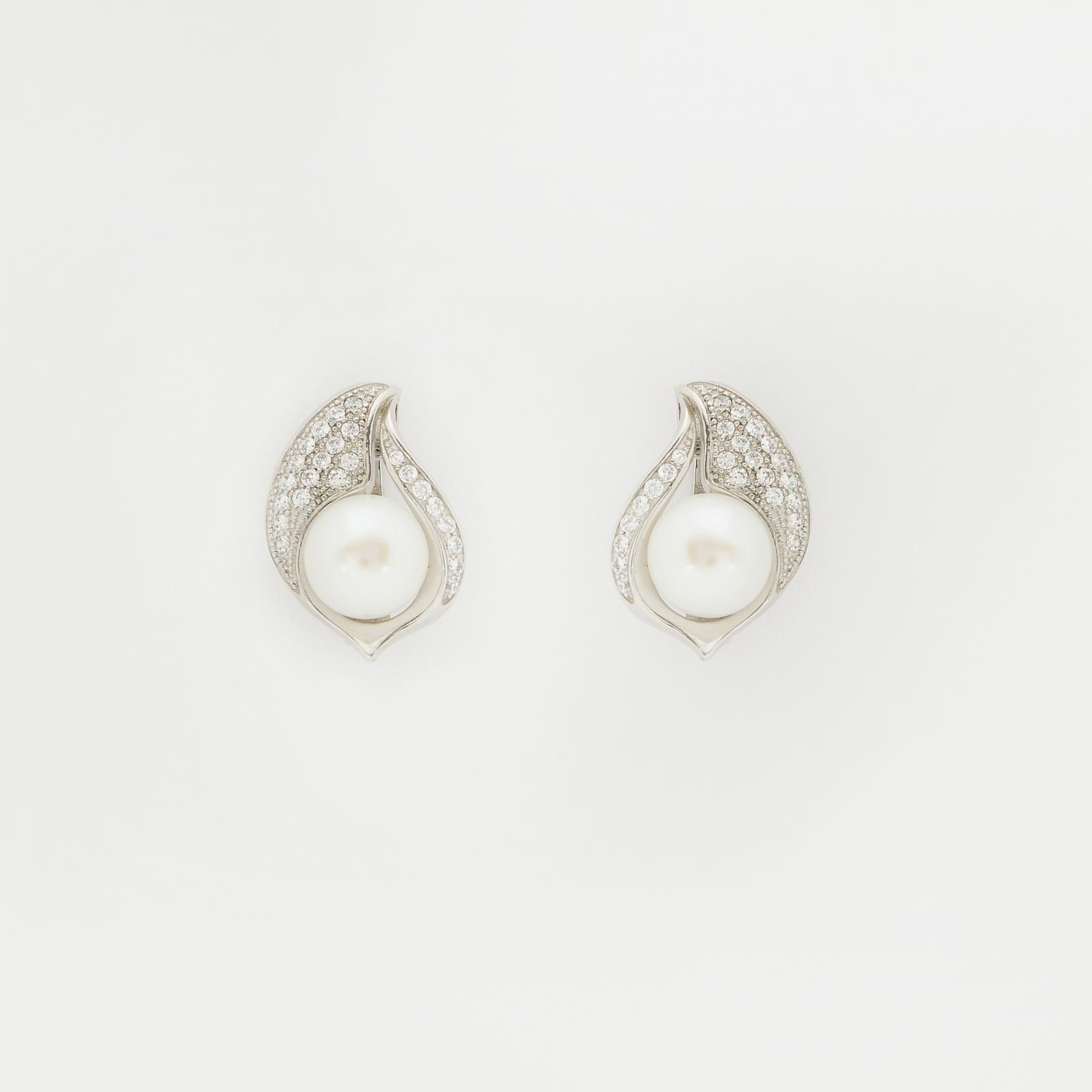 Серебряные серьги «Принцесса Софи»