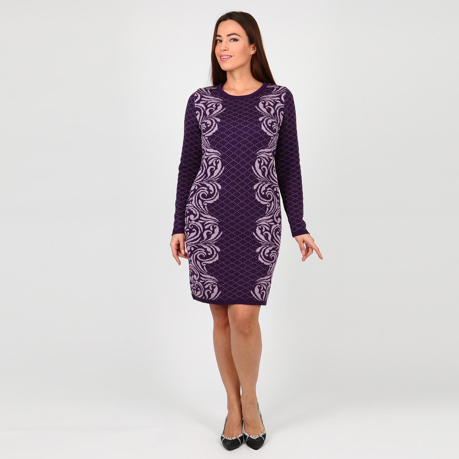 Платье с принтом «узоры»