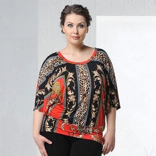 Блуза «Восточный декор»