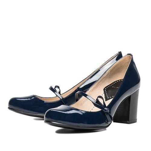 Лакированные туфли с бантиком