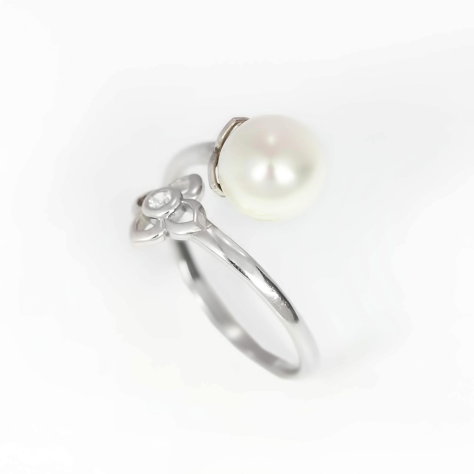 Серебряное кольцо «Восточный жемчуг»