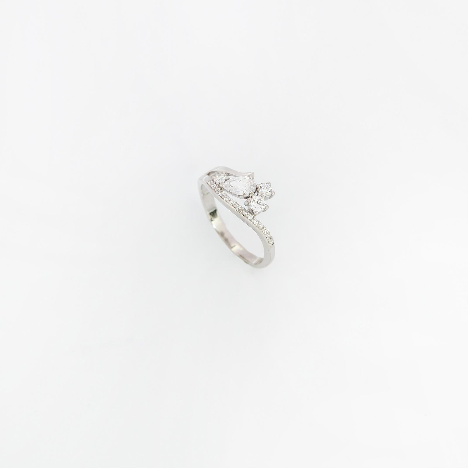 Серебряное кольцо «Весенний цветник»
