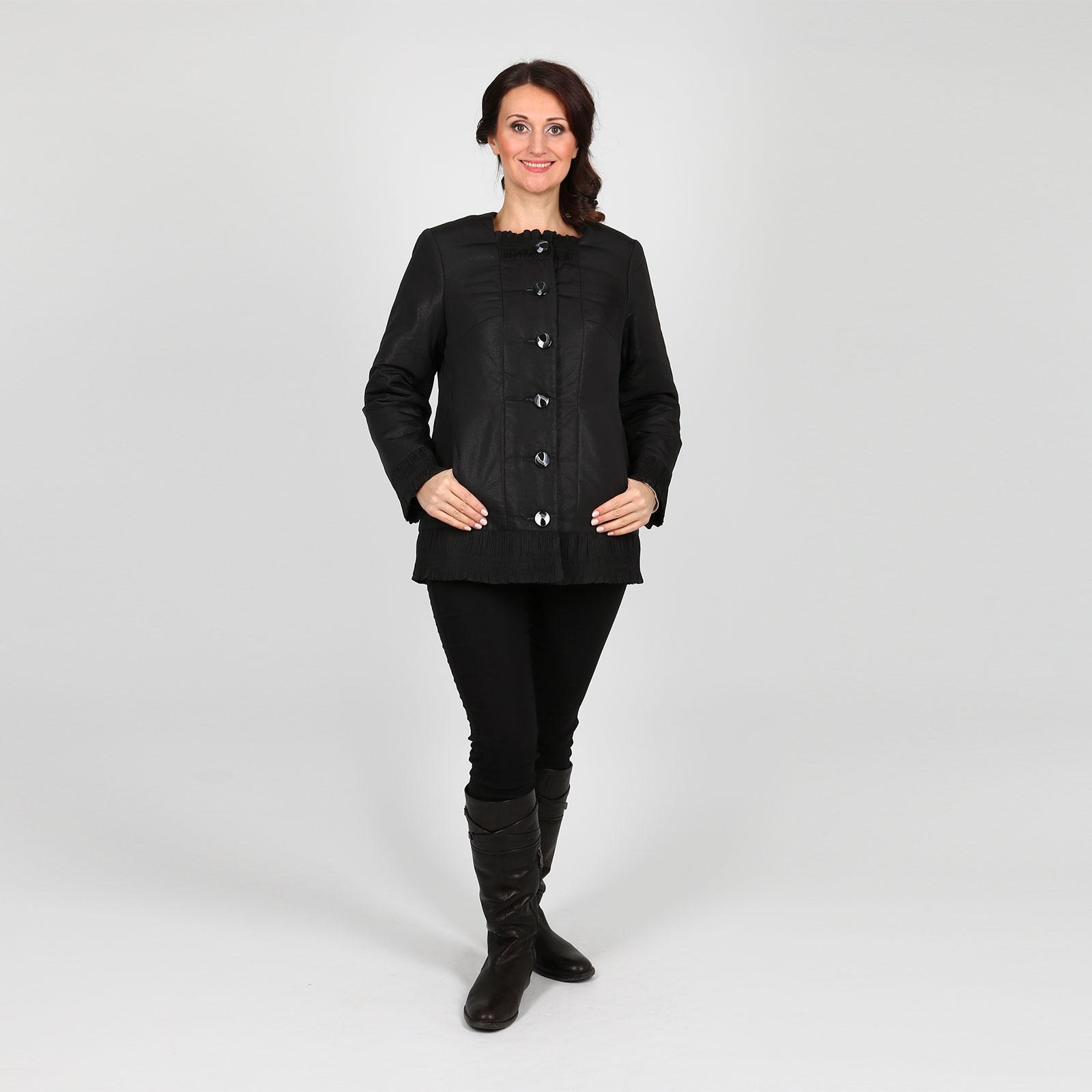 Куртка с гофрированными вставками