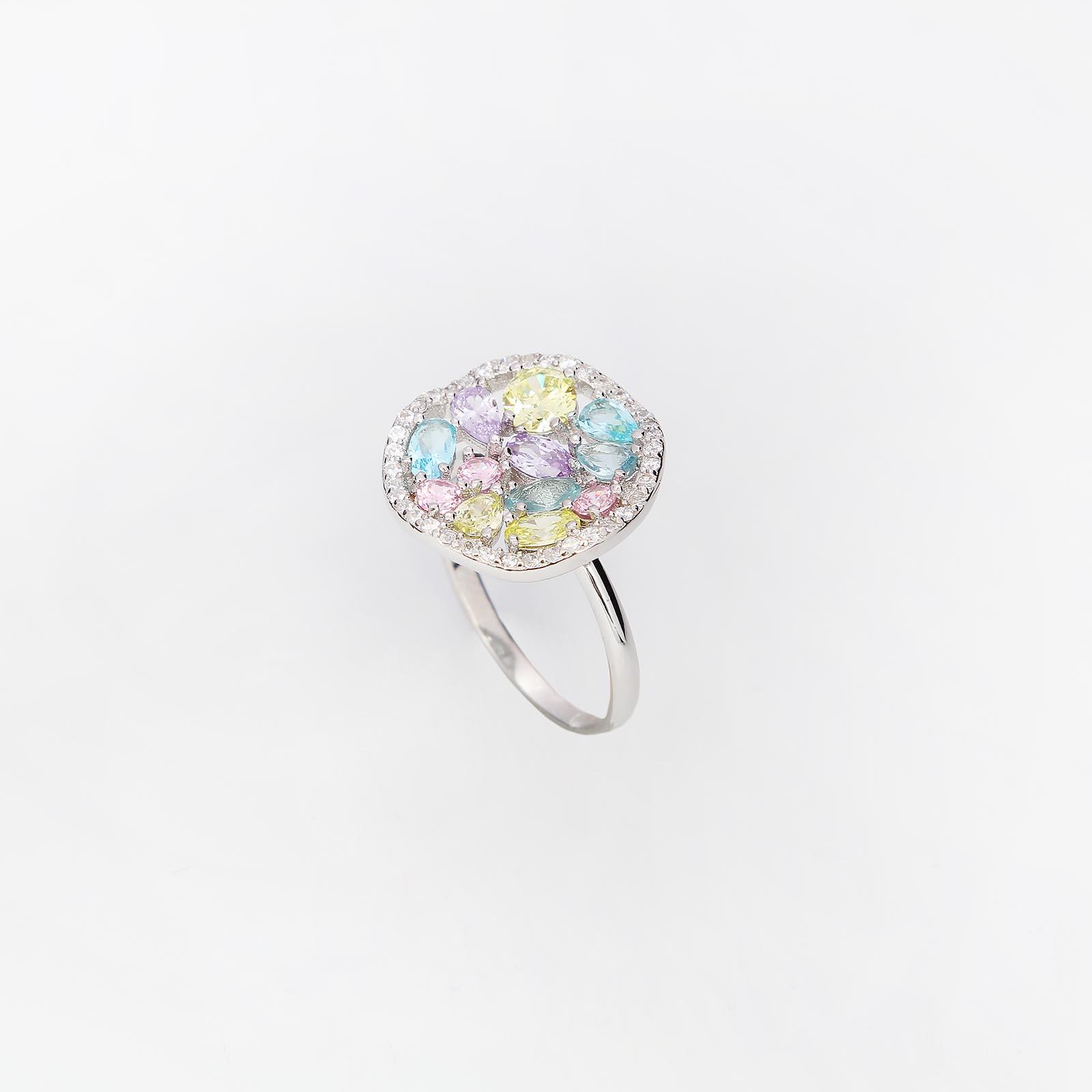 Серебряное кольцо «Полонез»