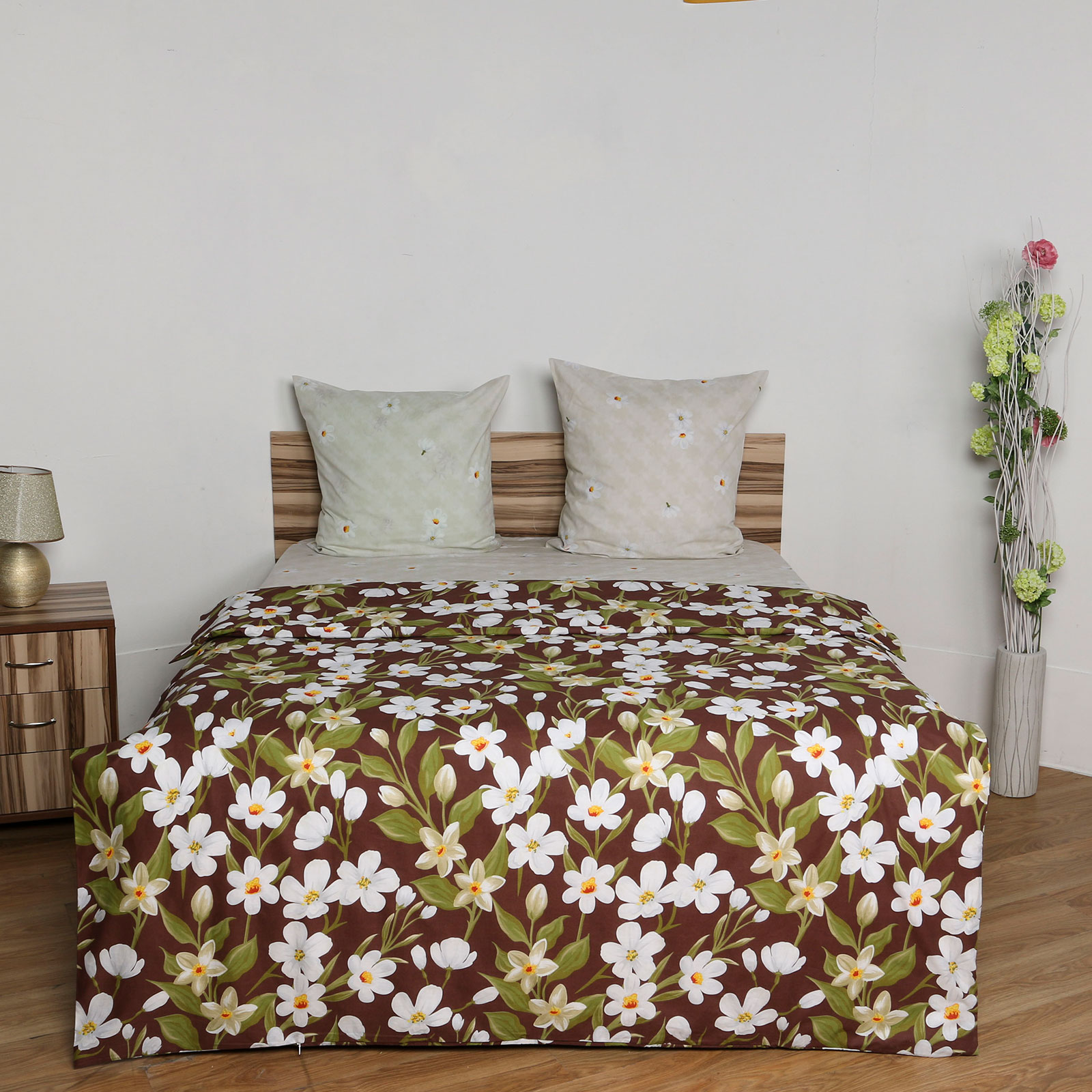 Комплект постельного белья «Цветочный восторг»